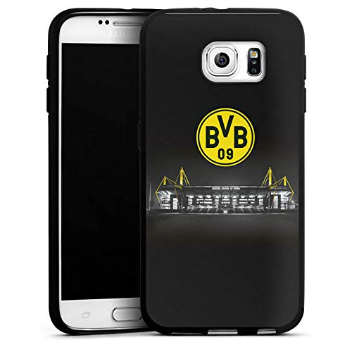 DeinDesign Silikon Hülle kompatibel mit Samsung Galaxy S6 Case Schutzhülle BVB Stadion Borussia Dortmund