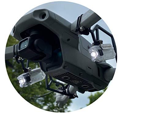 Roboterwerk Selfie Mavic Air 2 Dual: doppelte LED-Scheinwerfer für DJI Mavic Air 2, Zubehör, bis zu 110 Lumen Licht für Foto und Video sowie Positionserkennung