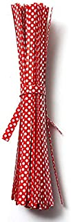 SHENYI Home and Jardin Nice 20pcs Polka Dot Twist Tey Sac d'emballage Beau Stockage (Color : Red)