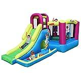 SYue Castillo hinchable para niños, casa de juguetes deportivos, parque hinchable para niños y niñas, parque de juegos, bola océano, piscina, tobogán infantil al aire libre