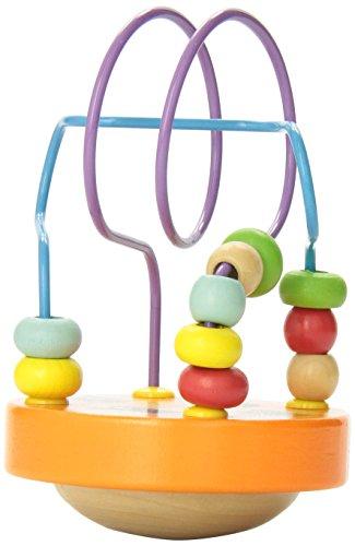 Manhattan Toy - 211640 - Jouet de Premier Age - Wobble Around Beads - Orange
