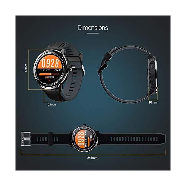 SmartWatch,Reloj Inteligente Impermeable IP68,Bluetooth Relojes Deportivos