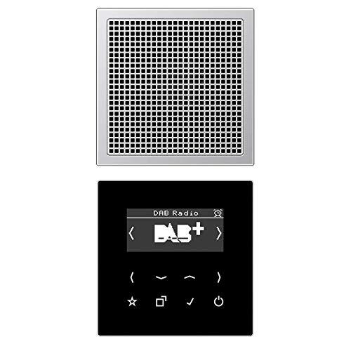 Jung Smart DAB+ Digitalradio DAB AL1 Set Mono 1LS Radio 4011377172425