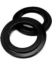 2 stuks universele lipafdichting 43 mm diameter voor stopventiel en zeefmandjes - reserveonderdeel: afdichtring afdichting afvoerventielafdichting