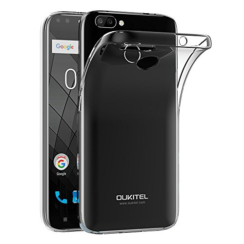 AICEK Oukitel U22 Hülle, Transparent Silikon Schutzhülle für Oukitel U22 Case Clear Durchsichtige TPU Bumper Oukitel U22 Handyhülle (5,5 Zoll)