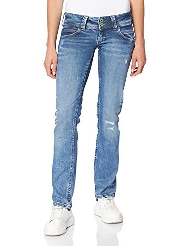 Pepe Jeans Damen Venus Jeans, Denim Wn5, 29W/32L