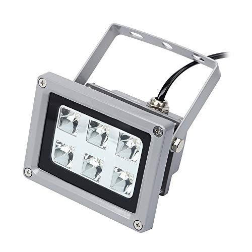 Aibecy - Lámpara de secado de luz UV para impresoras SLA/DLP, resina sensible a la luz, 6 unidades, 405 nm, luces LED UV con 60 W de potencia