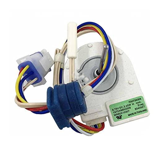 IOUVS Motor de Ventilador de ventilación 197D4968G009 FDQT26GE6 FDQT26GE8 Piezas de refrigerador de Motor rotativo inverso Ajuste para refrigerador Panasonic