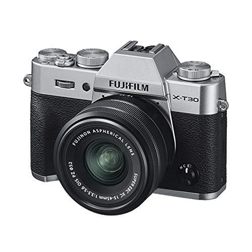 富士フイルム X-T30 ミラーレスデジタルカメラ XC15-45mmキット付き - シルバー