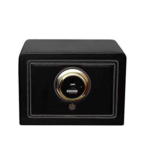 GLXLSBZ 4 + 0 enrollador automático de Reloj Unisex de Huellas Dactilares, enrolladores de Doble rotación Motor silencioso de Lujo con cajón de Metal Seguro 4 Modos de luz LED