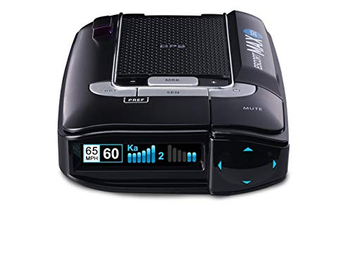 ESCORT MAX360 Laser Radar Detector - GPS, Directional Alerts, Dual Antenna Front and Rear, Bluetooth Connectivity, Voice Alerts, OLED Display, Escort Live (Renewed)
