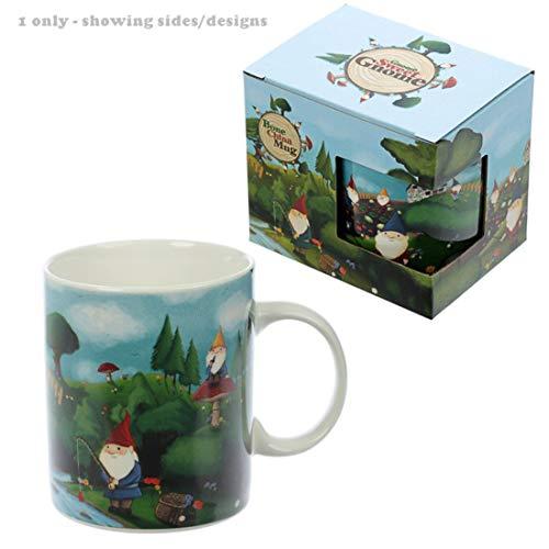 Puckator Gnomes Tasse en Porcelaine Fine