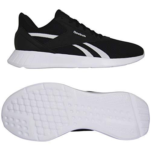 Reebok Lite 2.0, Zapatillas de Running Hombre, Negro/Blanco/Negro, 40 EU