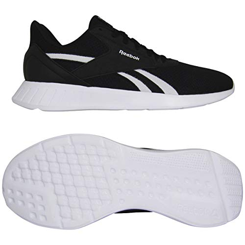 Reebok Lite 2.0, Zapatillas de Running Hombre, Negro/Blanco/Negro, 39 EU