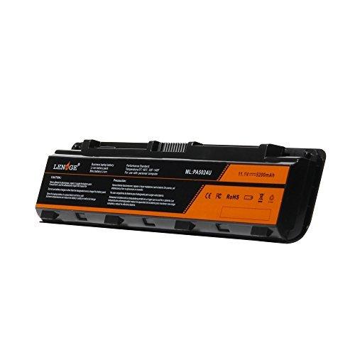 LENOGE PA5023U-1BRS PA5024U-1BRS - Batería de repuesto para Toshiba Satellite C850 C850D C855 C870 L850 Dynabook T752 T852 T8F PA5025U-1BRS PA5026U-1BRS PABAS259 1 PABAS. 262 (11,1 V, 5200 mAh).