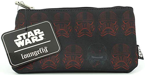 Loungefly Star Wars Sith Trooper Nylon Cosmetic Pouch Pencil Case Coin Bag