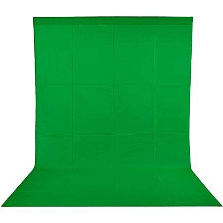 Neewer 2 7x4 6 Meter Chromakey Musselin Hintergrund Kamera