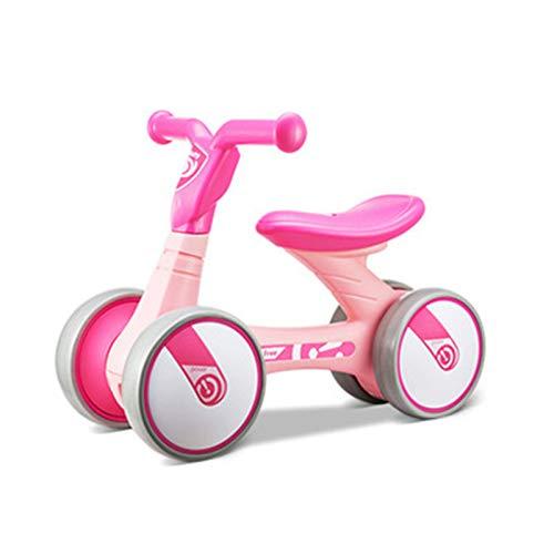 Bicicleta sin Pedales Bici sin Pedales Niño Juguetes Bebes 1 Año Triciclos Bebes Correpasillos Bebes 1 Año, Patito Amarillo,Pink