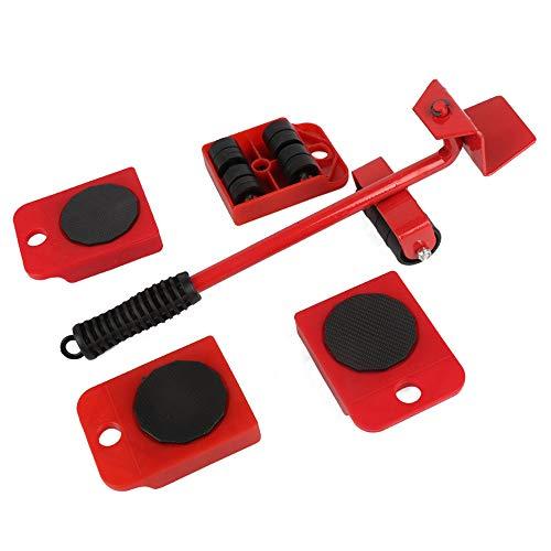 ZXLIFE@ Meubeltransporter met hoge draagkracht, ruimtebesparend, eenvoudig te bedienen, voor hardhout/laminaat/tapijt
