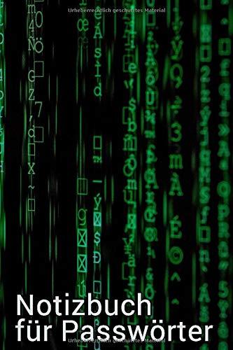 Notizbuch für Passwörter: Dein Passwort Tresor - Dotted Journal - weiß gepunktet - ähnlich DIN A5