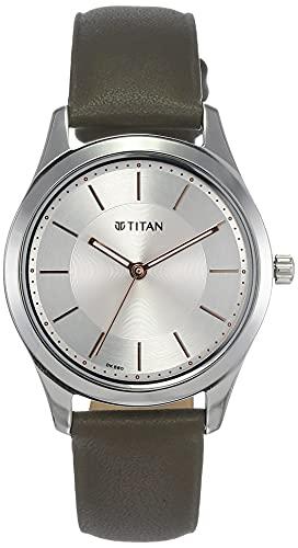 Titan Analog Silver womens Watch 2596SL04