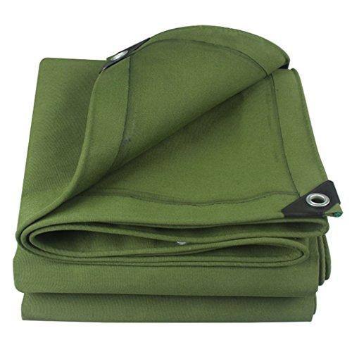 YUJIE waterdicht zeil autodak regenhoes campingaanhanger tent groen zeil - UV-bescherming, vochtbescherming, meerdere maten