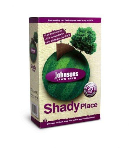 Decco Ltd Johnsons 46607 Shady Place Semences de Gazon pour Terrain ombragé 500 g