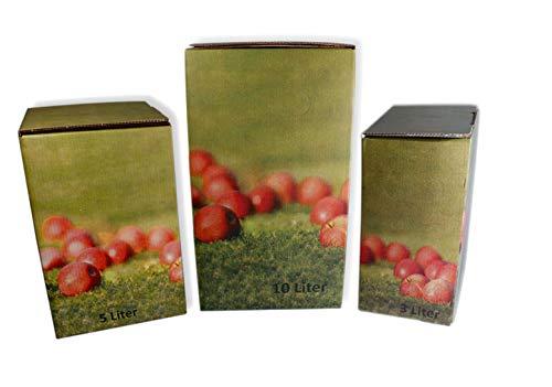Landkaufhaus Mayer 2 St. Bag in Box KARTON für Saftschläuche, Saftbeutel (5 Liter)