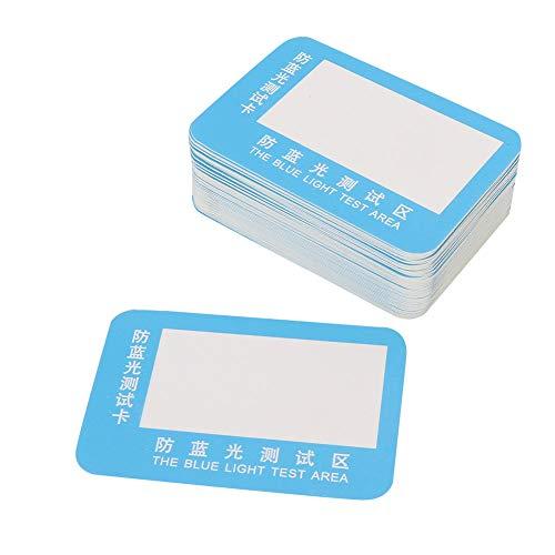 Yunnyp 50Pcs/Set Paper Anti-Blue Light Glasses Lens Test...