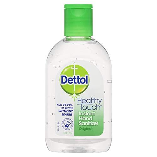 Dettol Healthy Touch Liquid Antibacterial Instant Hand Sanitiser Original, 200ml