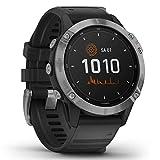 """Garmin fenix 6 Solar – GPS-Multisport-Smartwatch mit Solar-Ladefunktion für bis zu 16 Tage Akku. 1,3"""" Display und viele vorinstallierte Sport-Apps. Mit Garmin Pay, sehr robust,..."""
