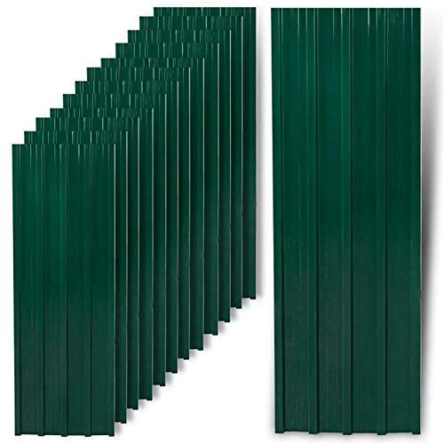 Kosoree Trapezblech Profilblech grün 12...