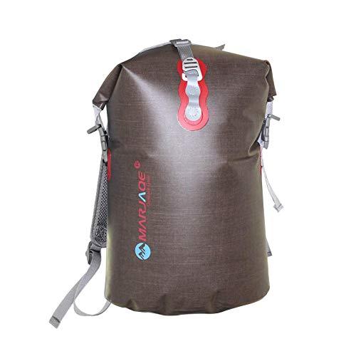 iBaste Dry Bag - Mochila impermeable flotante, bolsa seca para viajes al aire libre, bolsa seca para equipo de pesca