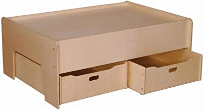 product image for Little Colorado Kids Storage Drawer Set of 2 Natural Laquer