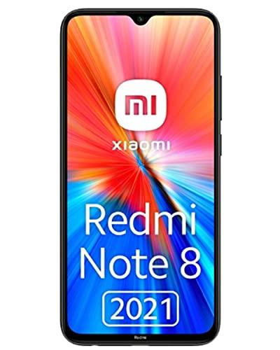 Smartphone Xiaomi Redmi Note 8 2021 Tim Space Black 6.3  4gb 64gb Dual Sim