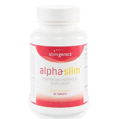 SlimGenics Alpha-Slim ™ | Carb Blockers, Block Up To 300 Calories Per Meal- Reduce Cravings, Increase Fat Burning, Includes White Kidney Bean - Promotes Healthy Weight loss