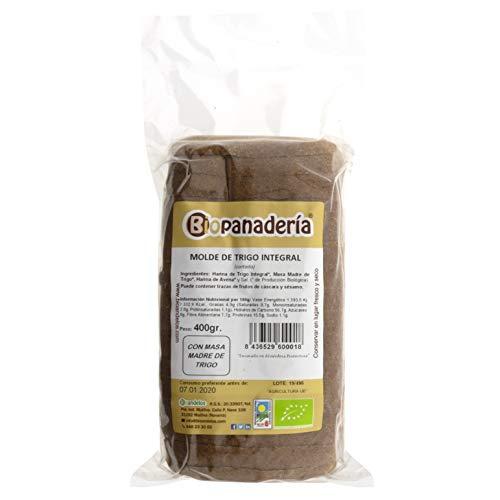 Biopanadería Pan de Molde de Trigo Integral y Masa Madre Natural Ecológico Artesano Gourmet