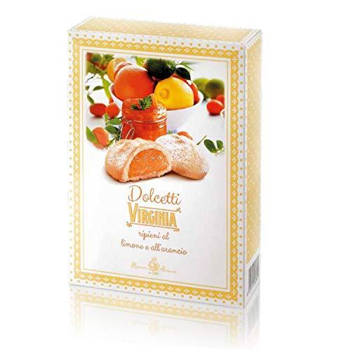 Dolcetti Virginia ripieni al limone e arancia