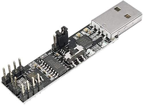 FORETTY DIANLU17 5pcs 3-IN-1 USB a RS232 RS485 TTL Módulo de Puerto Serie 2 MBPS CP2102 Conector de la Placa de Chip Rendimiento Estable