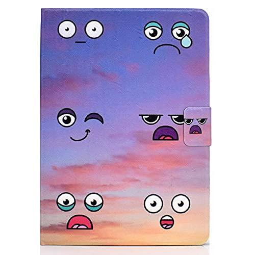 JIan Ying Funda universal TODOS 7' Tablets Slim Ligero Protector Cubierta Emoticones