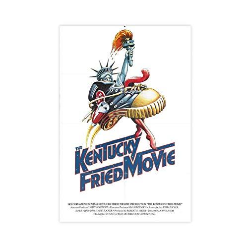 Retro Art Film The Kentucky Fried Movie Leinwand Poster Schlafzimmer Dekor Sport Landschaft Büro Zimmer Dekor Geschenk Unframe:40×60cm