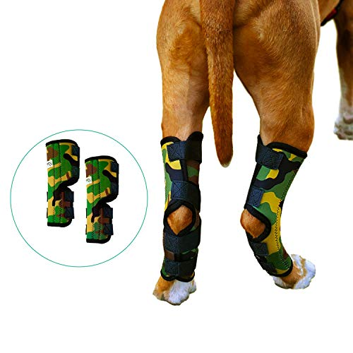 Pet Lovers Stuff Dog Leg Brace for Hind Leg - Hock Support Compression Wraps Ideal for Dogs with Arthritis in Joints, Strains or Sprains, Wound Healing, Loss of Stability (Extra Large)
