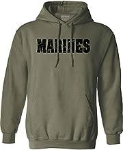 Joe's USA Vintage Marine Green Hoodies- Hooded Sweatshirt-5X-Large