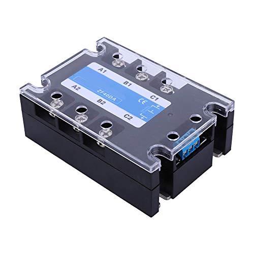 DC-AC-Steuerung Flammhemmende Hülle Mitteldruck 3000VAC SSR Solid State, DC-AC Solid State Relay, für Signallicht Industrielle Automatisierungsgeräte