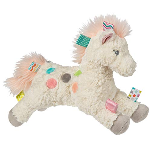 Taggies Sensory Stuffed Animal Soft Toy, Painted Pony