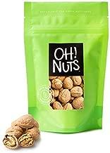 Walnut in Shell Large Fresh, Jumbo Californian Raw Walnuts in Shells - 2 LB Bag - Oh! Nuts