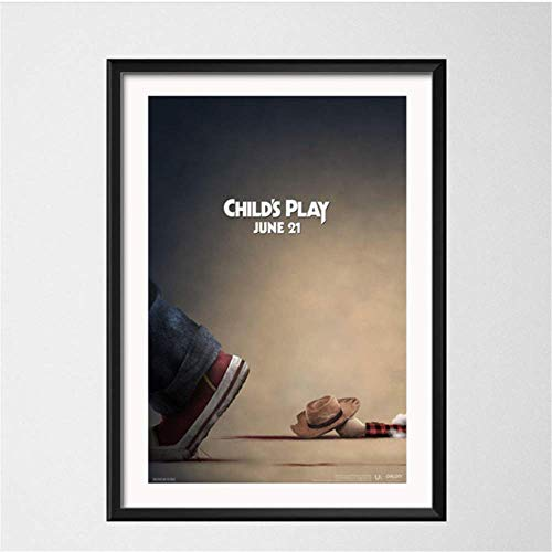 Amokr Canvas printing 15.7'x23.6' no frame Child's Play Classic Horror Movie Posters And Prints Wall Pictures For Living Room Decorative Home Decor