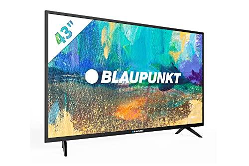 Blaupunkt BS43U3012OEB Smart TV 108 cm (43 Zoll) 4K UHD Fernseher (Miracast, Triple Tuner, HDMI) [Modelljahr 2020]
