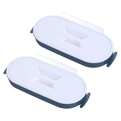 Y-H - Soporte para bolsas de basura (4 L), color azul