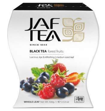 JAF TEA Schwarzer Tee - Waldfrucht - Karton